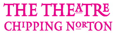 The theatre chipping norton logo in pink font