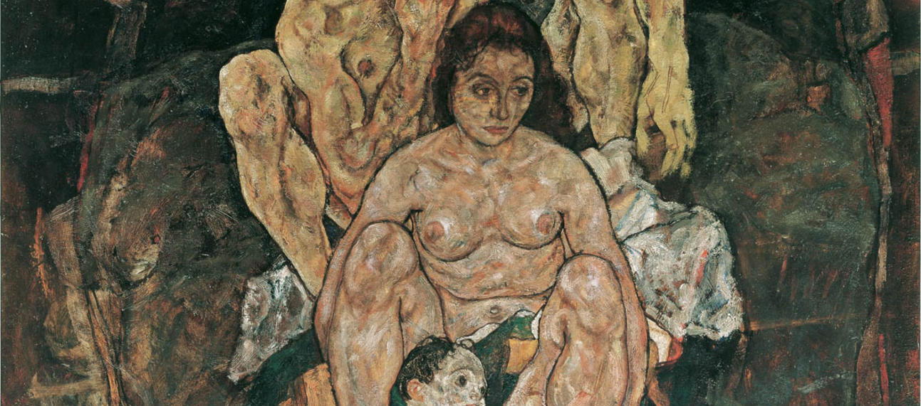 Egon Schiele's painting entitled 'The Family'