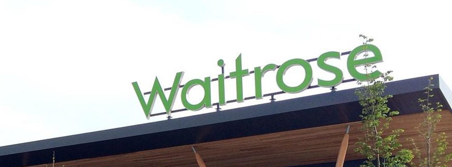 View of Waitrose in Swindon
